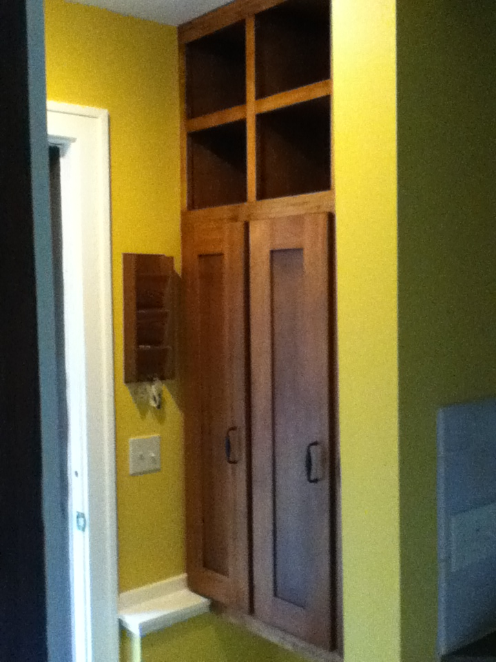 Locker Cabinets in Mudroom