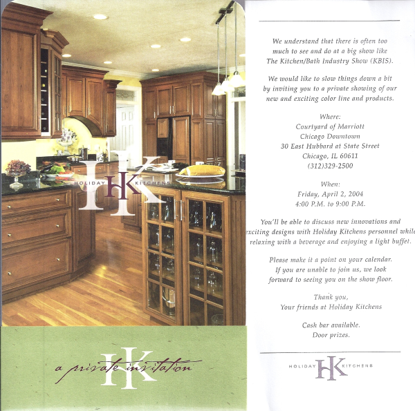 KBIS Kitchen Invitation
