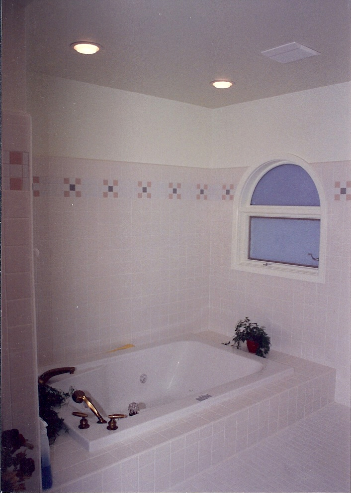 New Bath Tub for Remodeled Bathroom