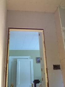Drywall for Remodeled Bathroom