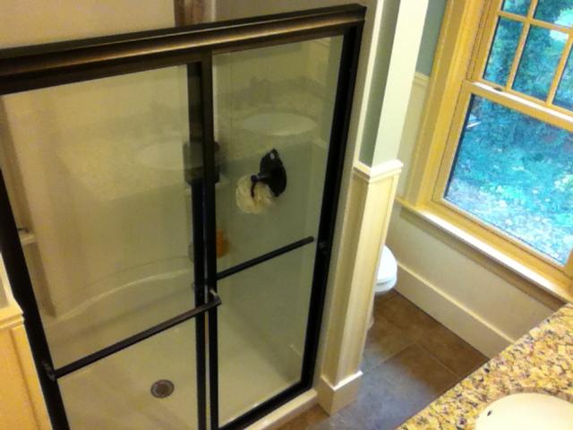 Bathroom Shower Stall Remodel After