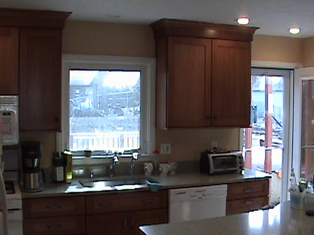 Remodeled Kitchen Cabinetry