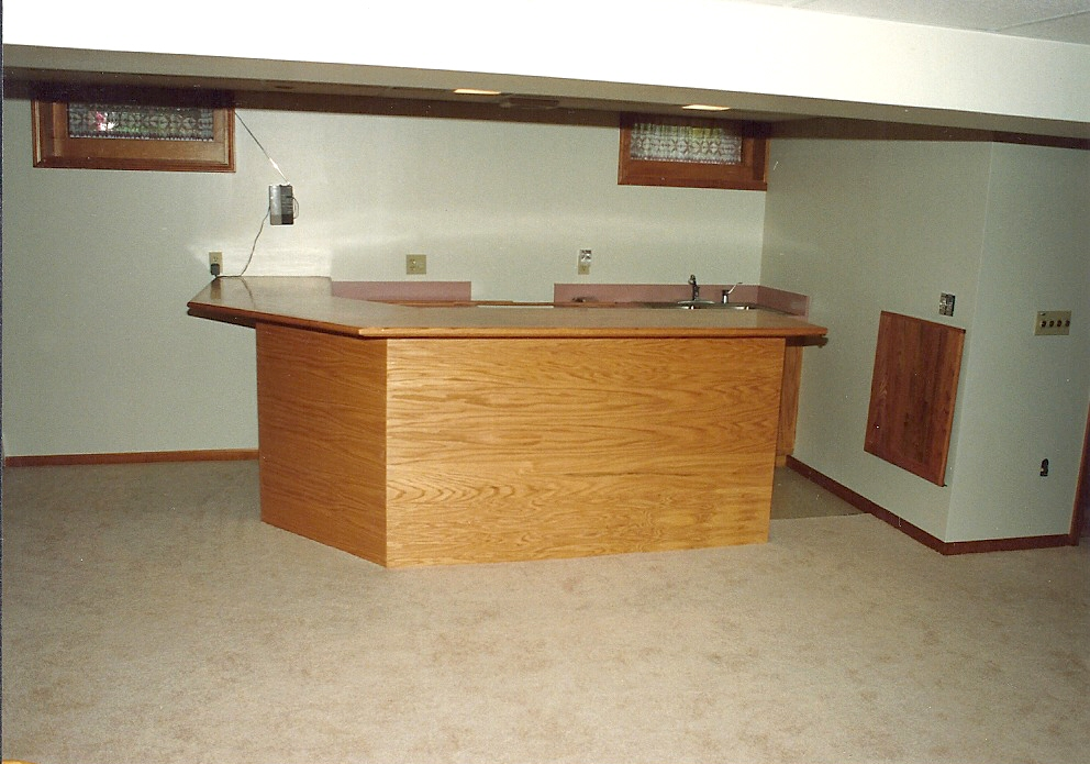 Custom Bar and Cabinetry