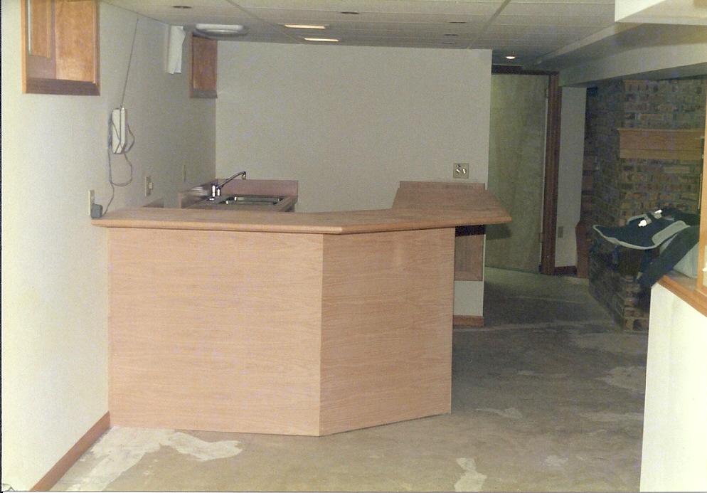 Custom Carpentry Basement Cabinetry1