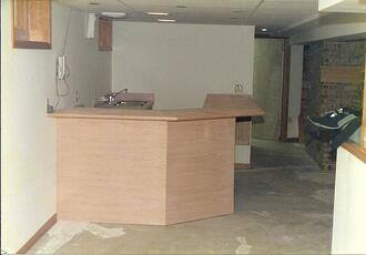 Custom Carpentry Basement Cabinetry1