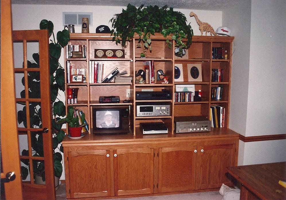 Custom Carpentry Entertainment Center2