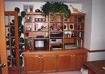 Custom Carpentry Entertainment Center2