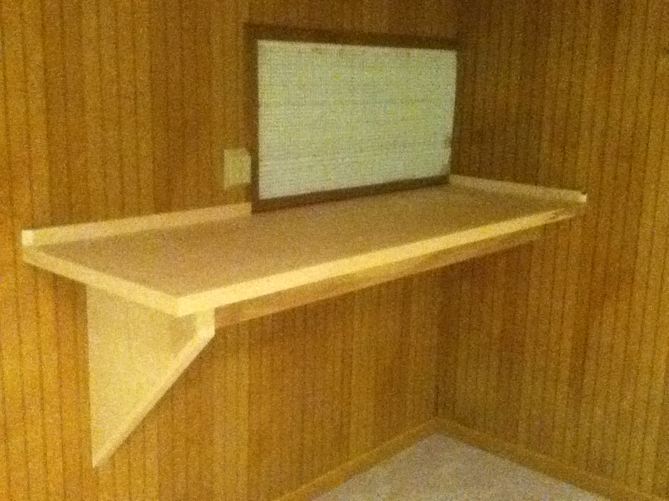 Custom Interior Work Bench