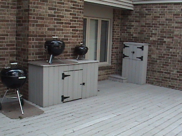 Deck Remodeling Storage