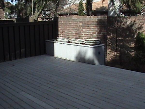 Deck Storage for Custom Deck Additions