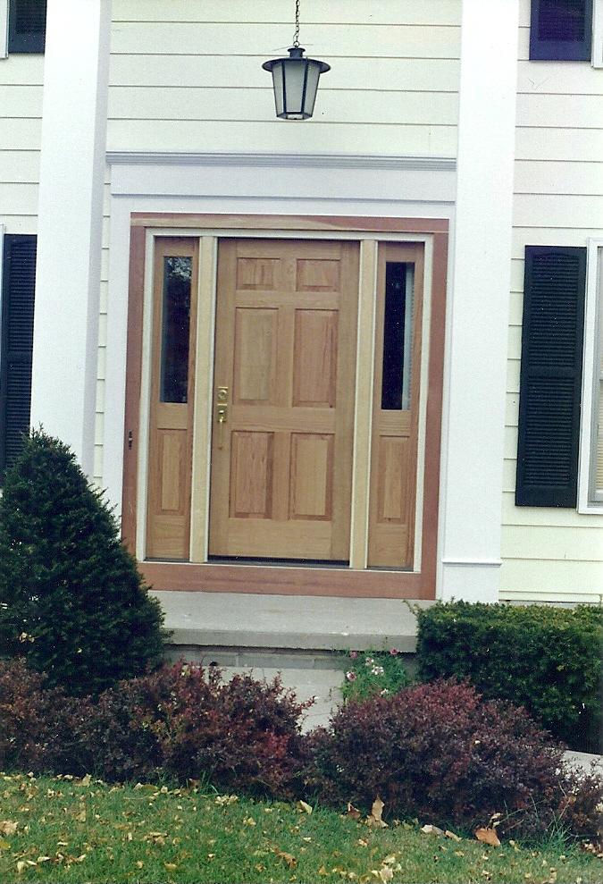 Front Door installation
