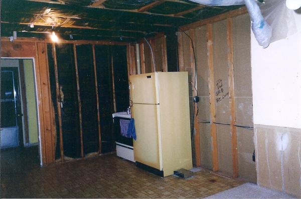 Addition Construction Photo