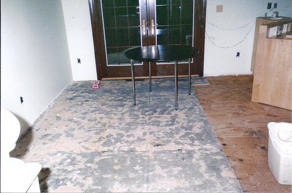 Dining room construction
