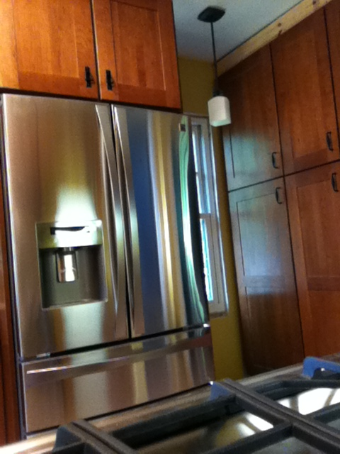 Kitchen remodeling Stainless Appliances