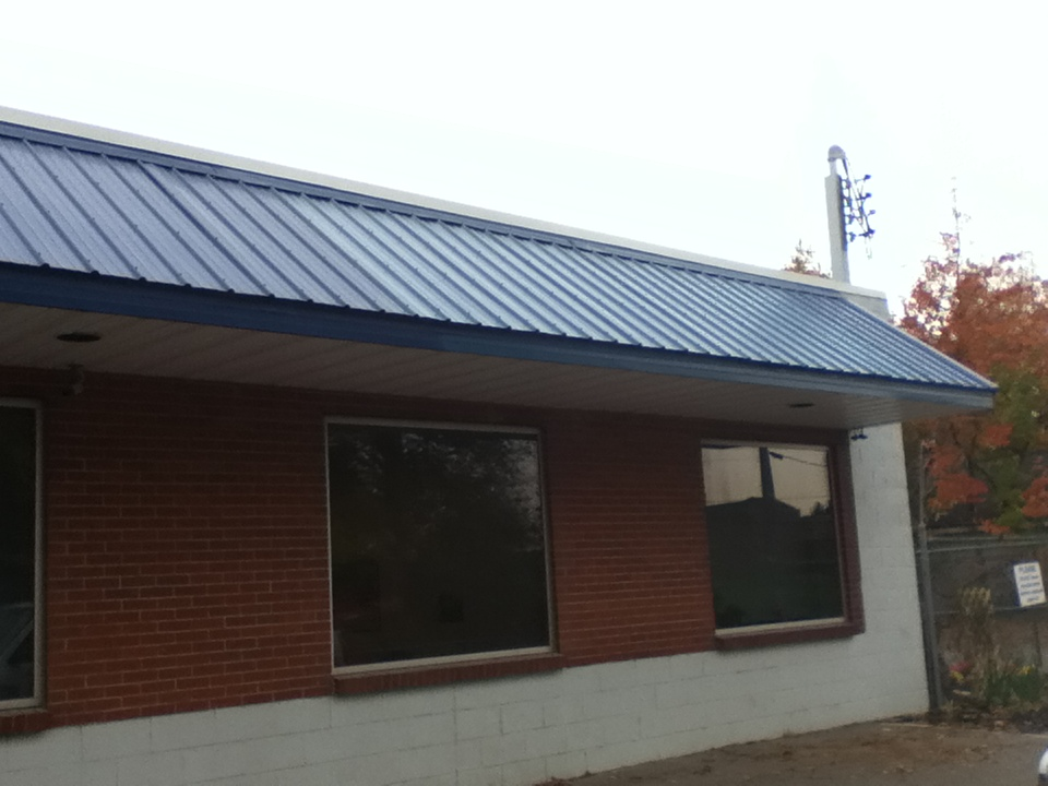 Metal Awning Roof Repair and Replacement