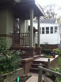 Porch Addition Deck Landing