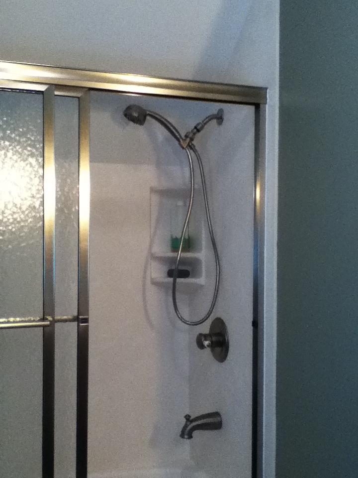 Remodeled Bathroom Shower After