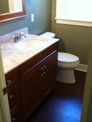 Remodeled Bathroom Vanity