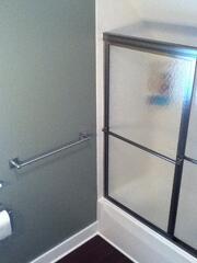 Remodeled Marble Enclosed Shower
