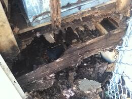 Chimney Water Damage Repairs From Bad Roof Flashing