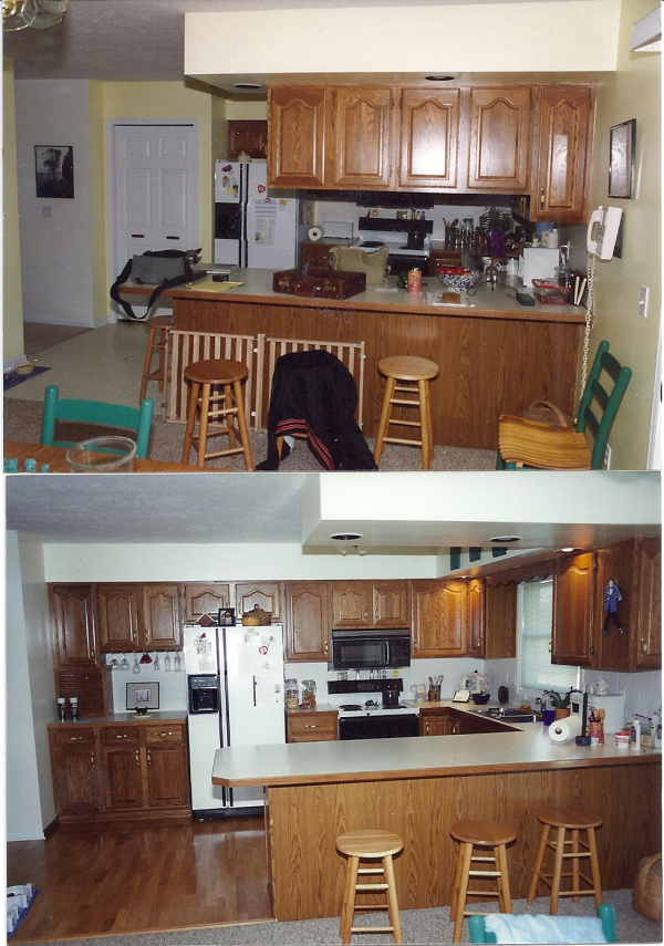 Re-Designed Kitchen Remodeling Project