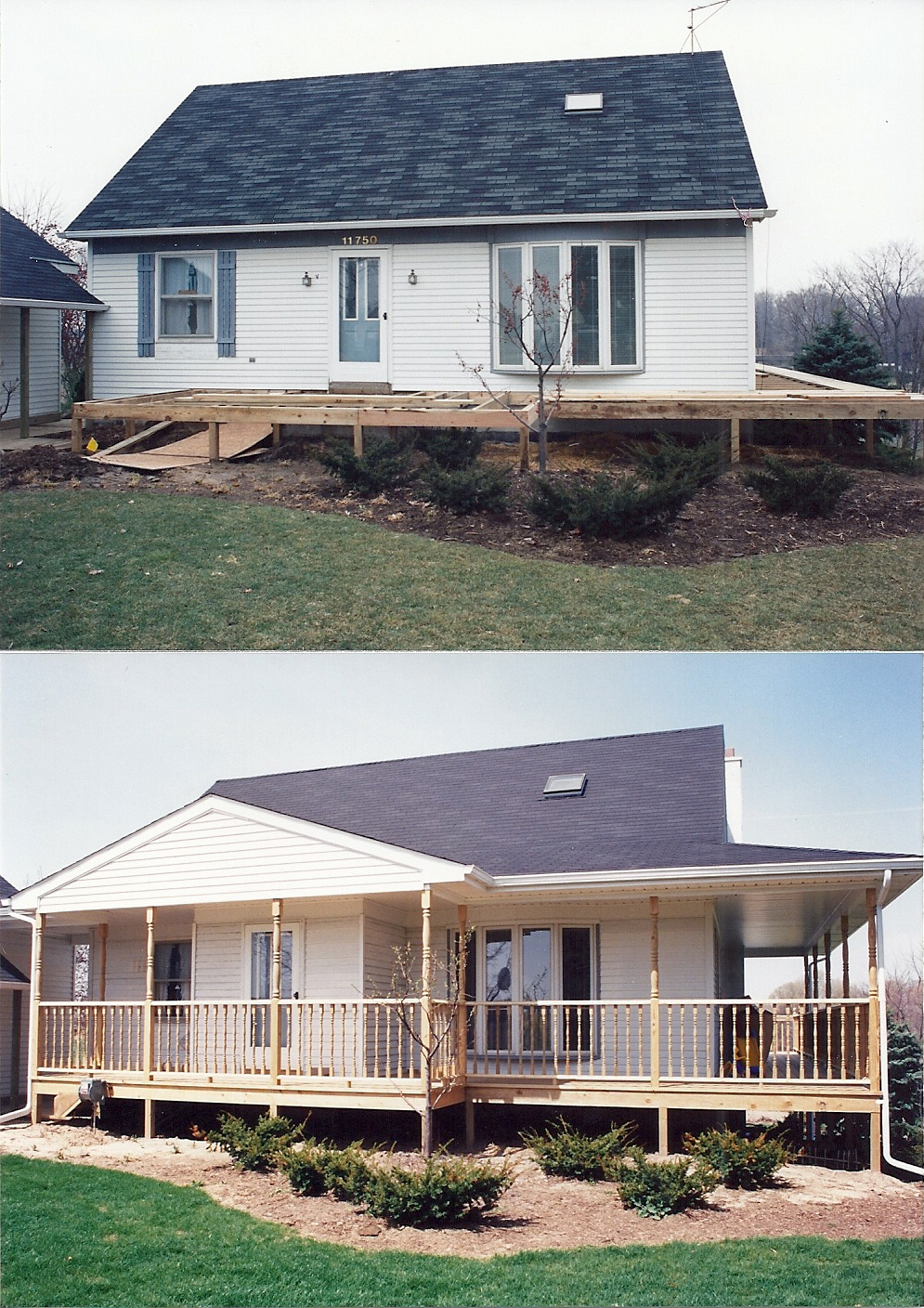 custom deck additions photo