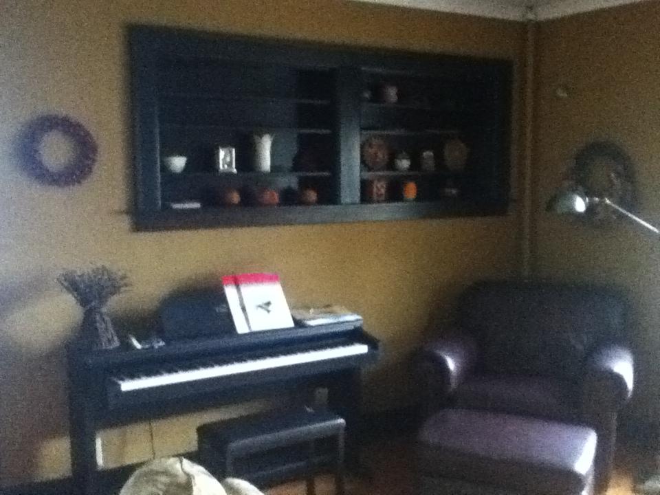 Custom Shadowbox Shelves