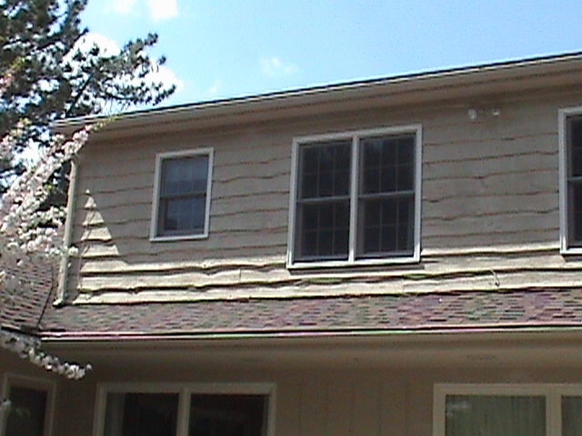 Worn Out Wood Siding