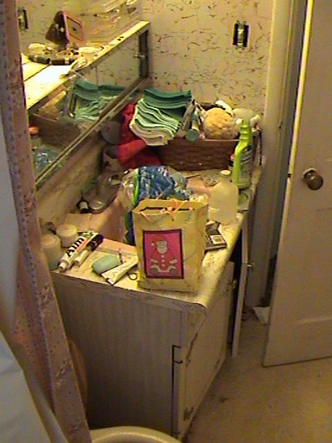 Unhealthy Bathroom Vanity