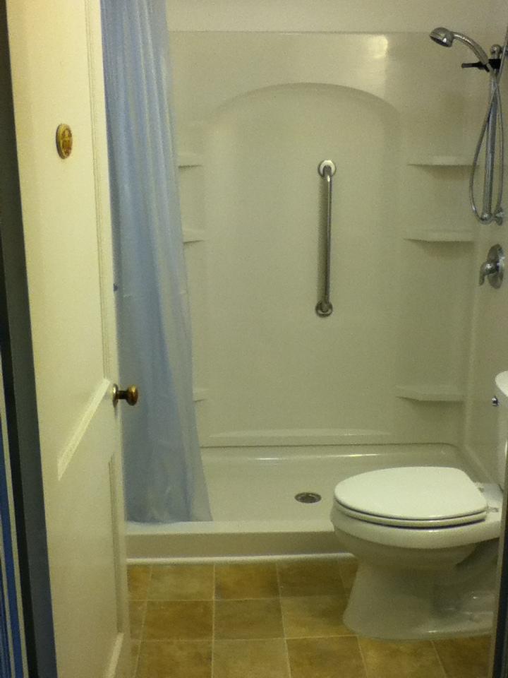 Walk In Shower Remodel