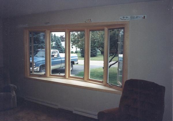 Interior Bay Window Replacement