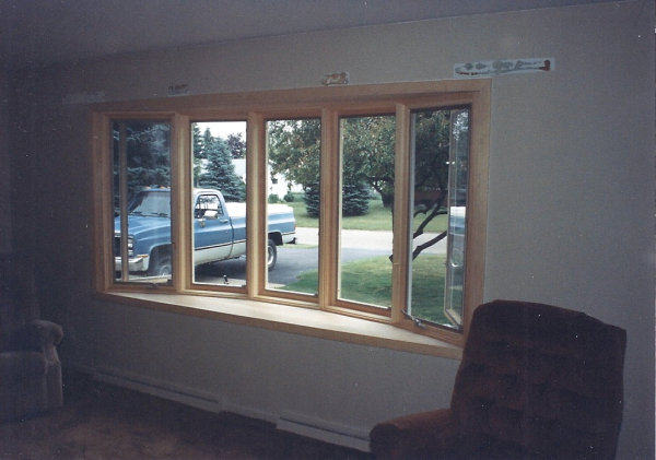 Interior Bay Window Replacement