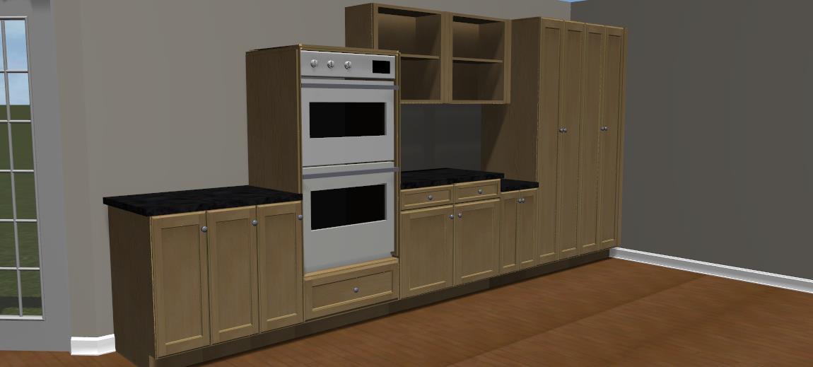 Kitchen Cabinetry 3D Design