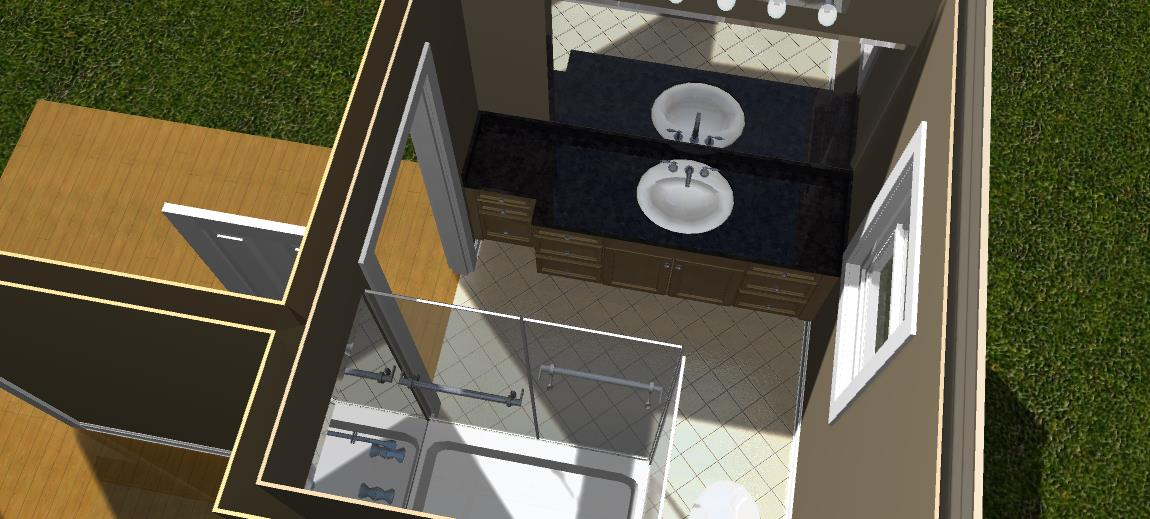 Bathroom Remodel 3D Design